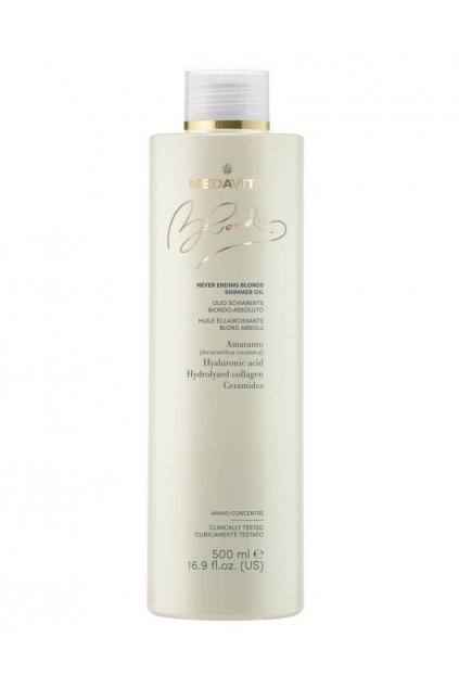 Medavita Blondie Shimmer oil zesvětlovací olej o 2-3tóny 500ml