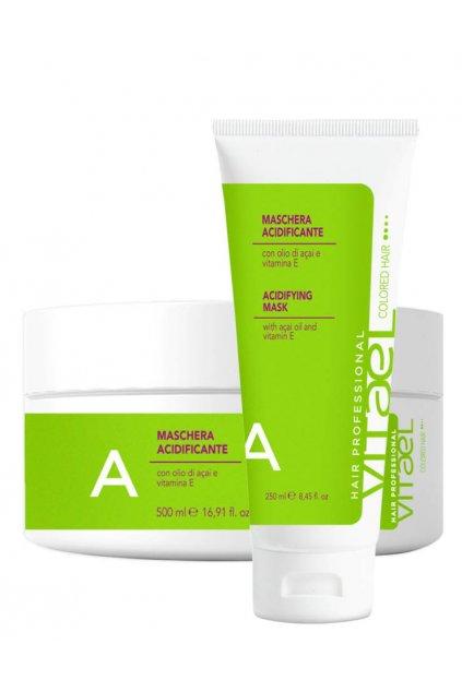 Vitael COLORED Maska pro barvené vlasy, antioxidační kyselé pH