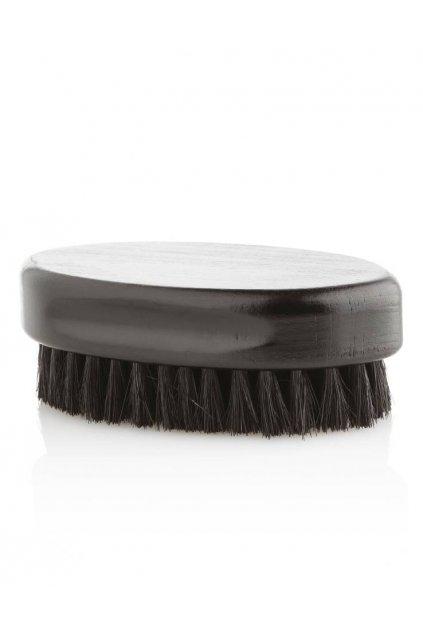 The Barber Kartáč na vousy, dřevo a přírodní štětiny, černý