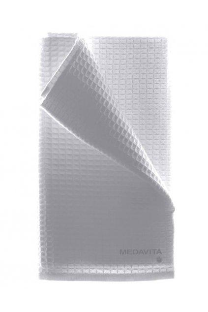 Medavita Ručník vaflový bílý 100% bavlna