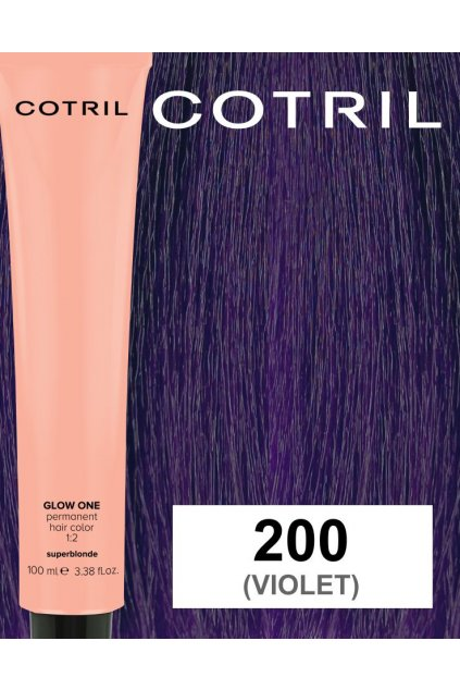 VIOLET 200 cotril glow ONE