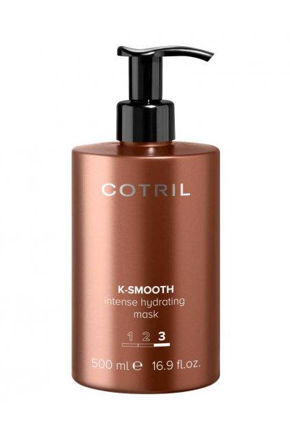 Cotril K-SMOOTH Maska intenzivně hydratační pro hladké a upravené vlasy 500ml