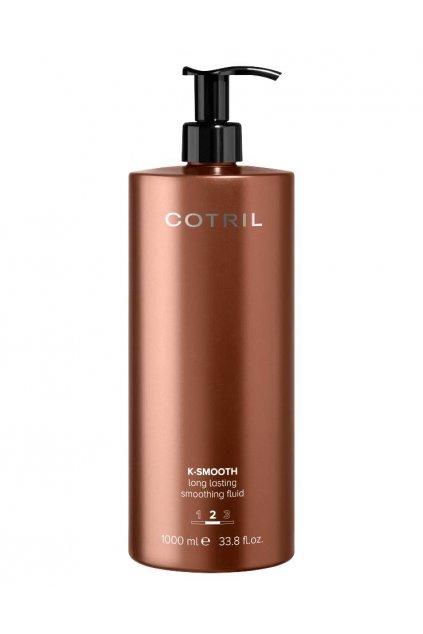 Cotril K-SMOOTH Fluid pro dlouhodobě hladké, upravené a hebké vlasy 1000ml