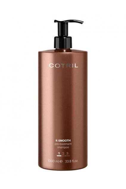 Cotril K-SMOOTH Šampon přípravný, hloubkově čistící 1000ml
