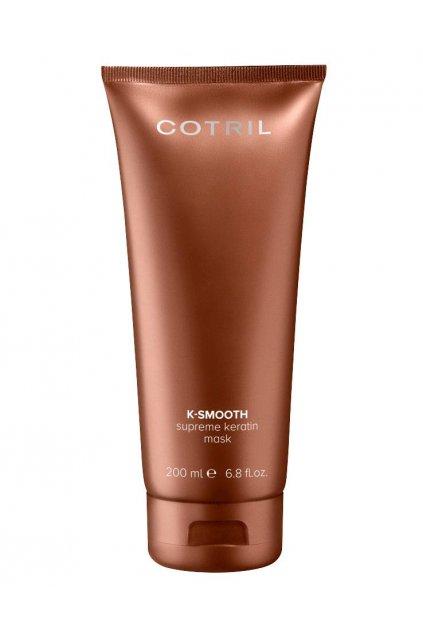 Cotril K-SMOOTH Supreme Maska s keratinem pro hladké a upravené vlasy 200ml