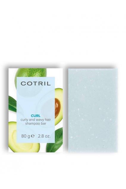 Cotril CURL Tuhý šampon pro vlnité a kudrnaté vlasy, proti krepatění 80g