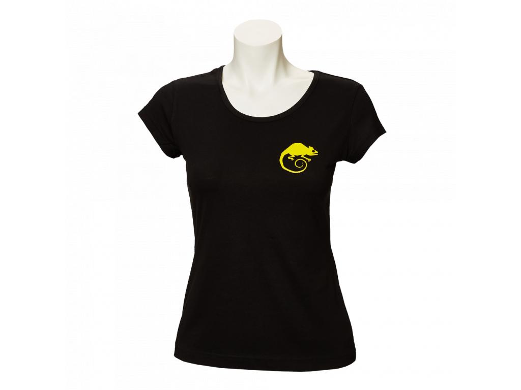 Černé tričko Made in Valmez - dámské