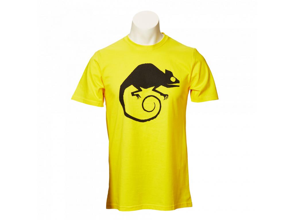 Žluté tričko Made in Valmez - pánské