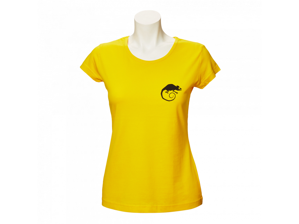 Žluté tričko Made in Valmez - dámské