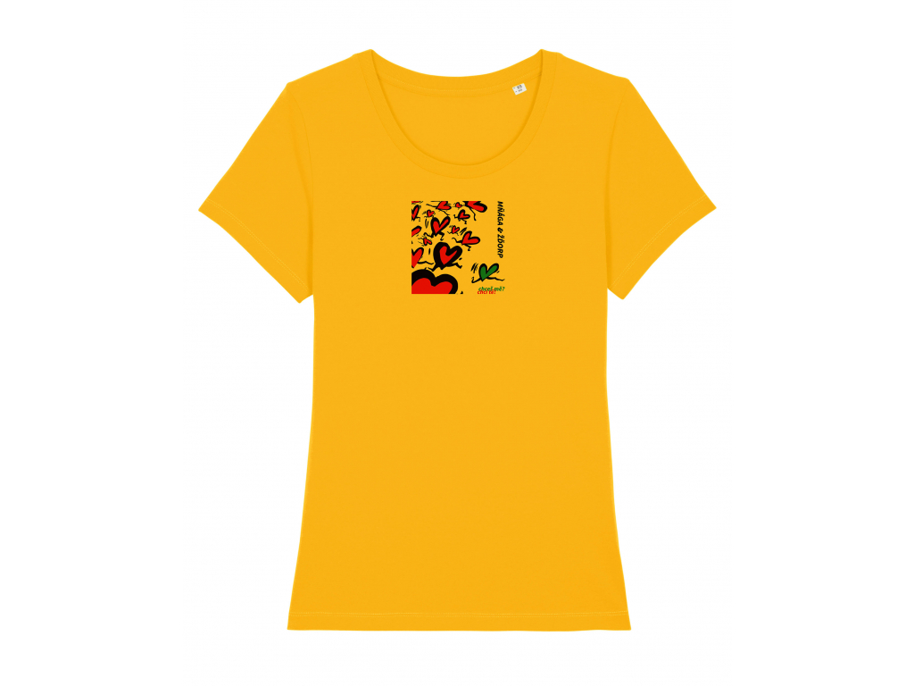 chces me damske zlute triko