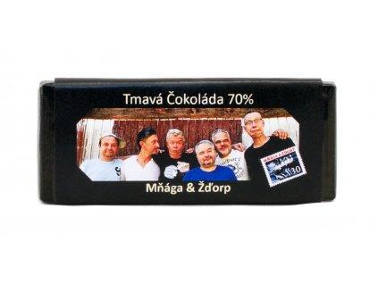 Tmavá čokoláda 70 % kakaa