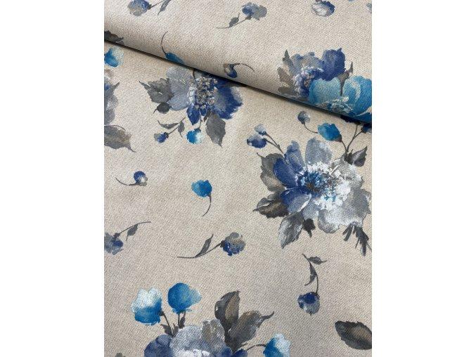 14 Modré kvety