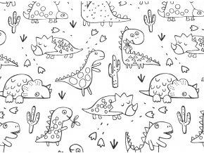 Vyfarbovacie Dinosaury