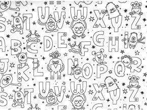 Vyfarbovacie Morsky abeceda