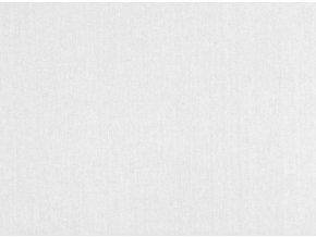 Bavlna jednofarebna biela