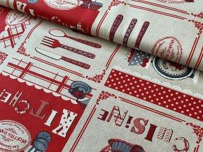 34 Červená kuchyňa