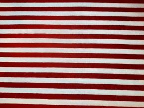 Červený pásik