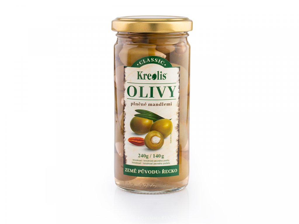 Olivy s mandl° 240g