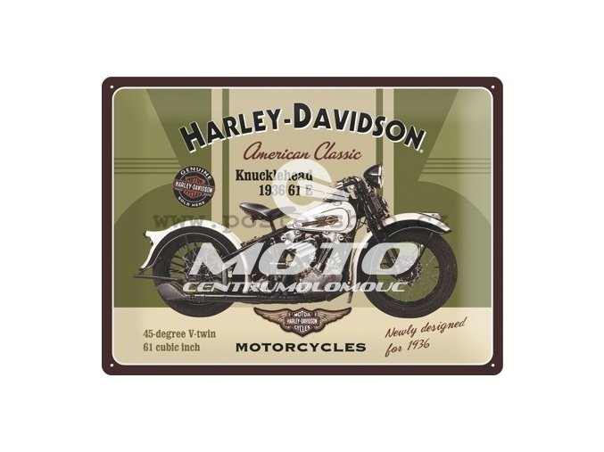 Cedule Harley Davidson Knucklehead