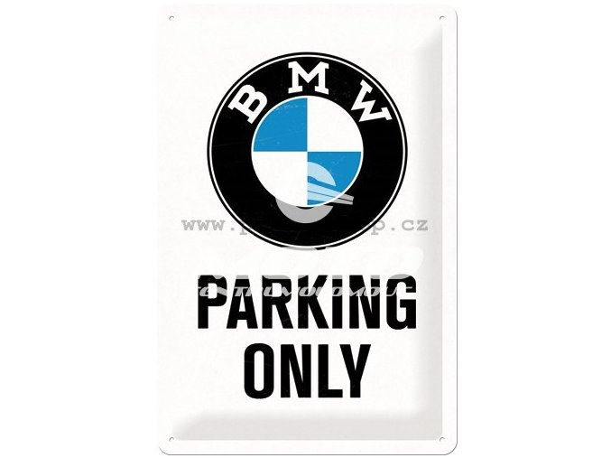Cedule BMW Parking Only