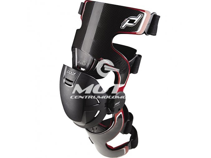 POD MX - K700 Knee Brace Carbon
