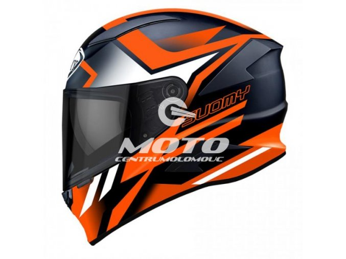 SUOMY SPEEDSTAR ASYMMETRIC ORANGE FLUO