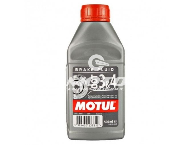 MOTUL - DOT 3&4 Brake Fluid / 500 ml