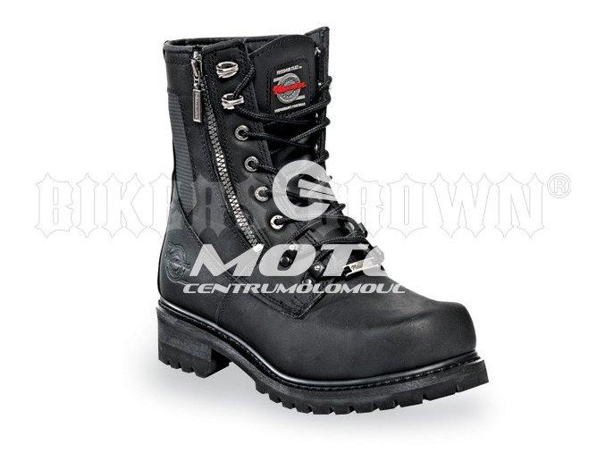 Milwaukee MB416 Trooper pánské motocyklové boty