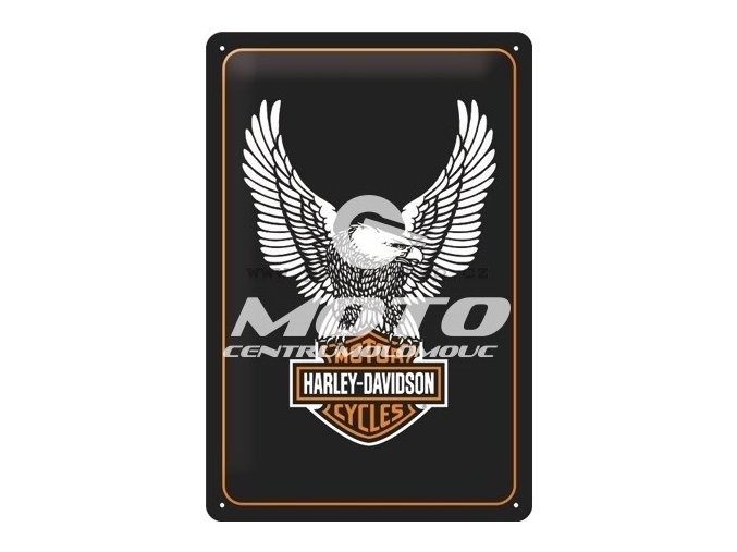 Retro cedule Harley Davidson 20x30