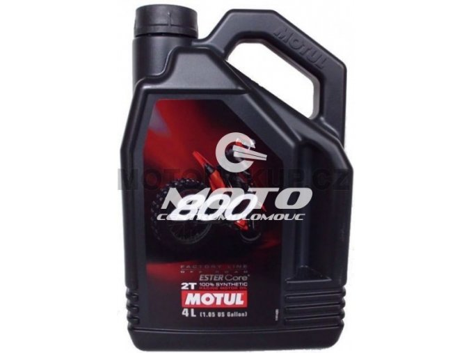 Motul - 800 2T F.L. Off road / 4 l