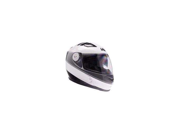 0001484 lazer bayamo cup helma na moto barva bilo sedo cerna 220