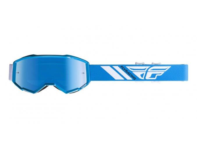 bryle zone 2019 fly racing modre modre chrom plexi i360553