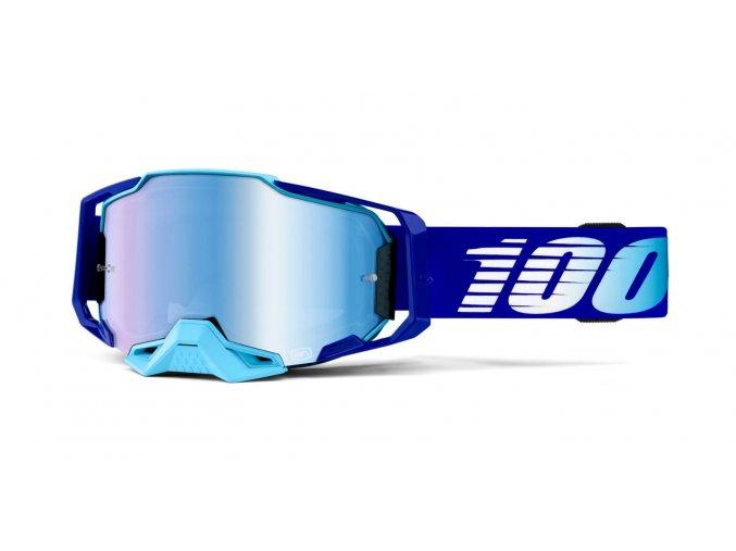 bryle armega royal 100 modre chromovane plexi s cepy pro slidy i399967