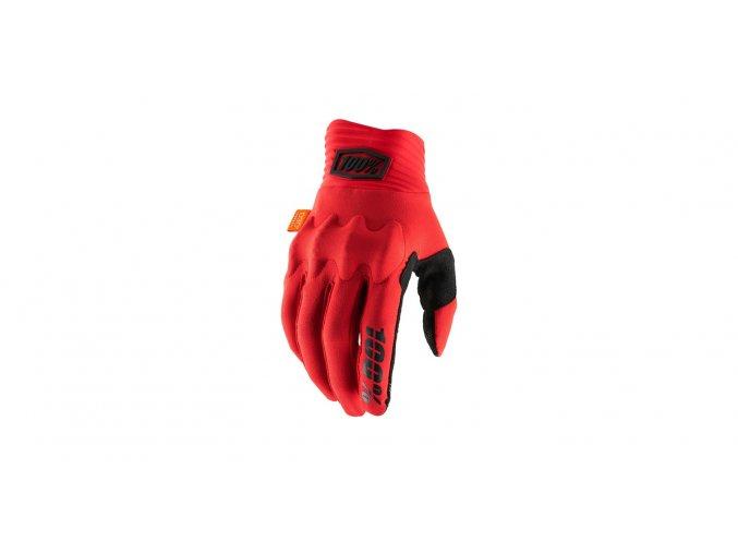 rukavice cognito 100 cervena cerna i389382