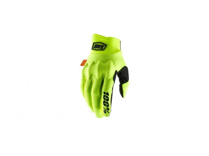 rukavice cognito 100 zluta cerna i364901