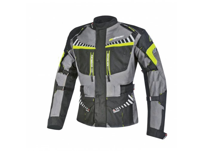 panska textilni moto bunda spark roadrunner cerna