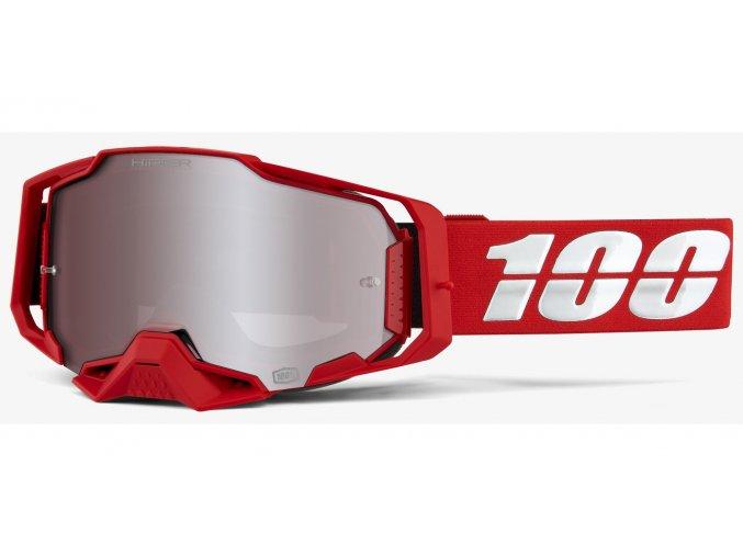 bryle armega red 100 hiper stribrne plexi s cepy pro slidy i430197