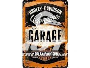 Cedule Harley Davidson Garage