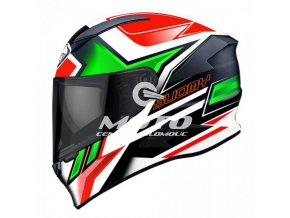 SUOMY SPEEDSTAR ASYMMETRIC GREEN RED