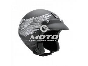 NEXX X60 EAGLE RIDER black silver