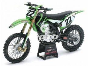 Kawasaki KX 450F, (Chad Reed)