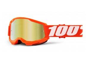 strata 2 100 usa detske bryle orange zrcadlove zlate plexi i458956