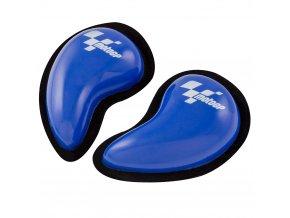 Official MotoGP Teardrop Motorcycle Knee Sliders Blue MGPKSL03