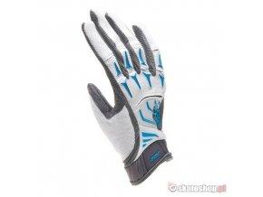 FOX Attack white bike gloves
