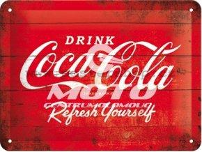 Retro cedule Coca-Cola