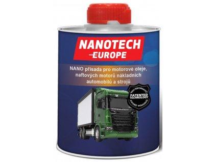 NANO-přísada pro motorové oleje, naftových motorů nákladních automobilů a strojů / NANOTECH-EUROPE