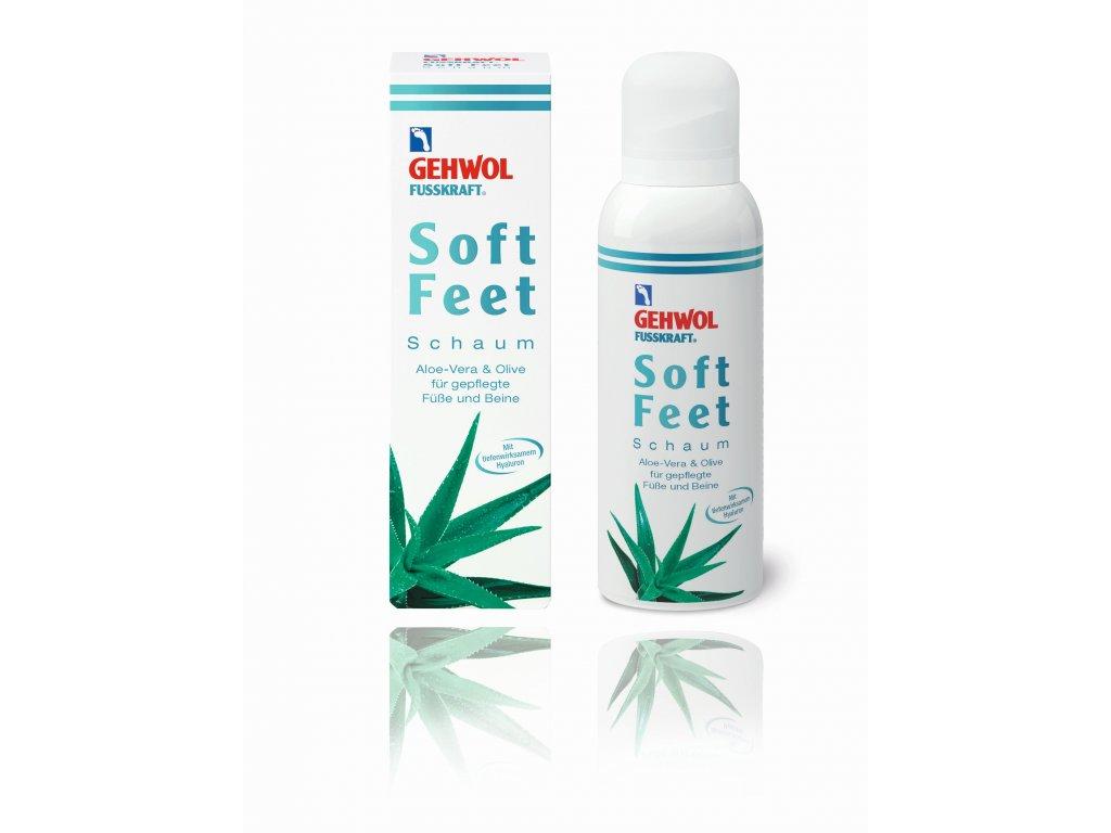 Soft Feet Schaum 125 ml  - pečující pěna s aloe vera
