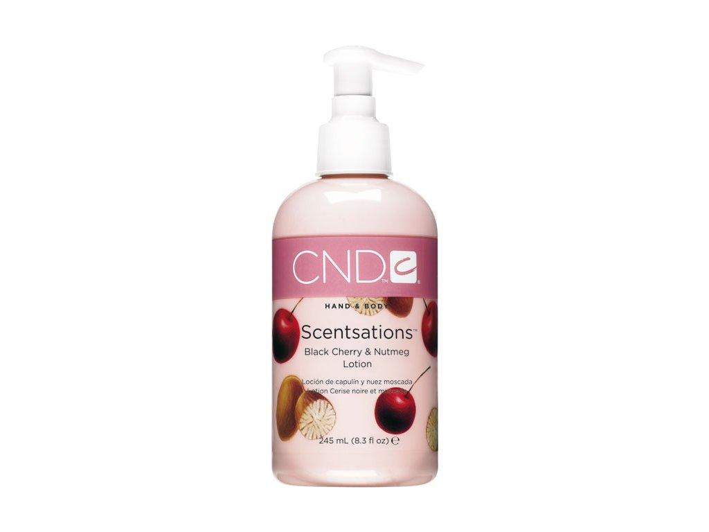 CND SCENTSATIONS™ Pleťové mléko třešeň a muškátový oříšek (245ml)