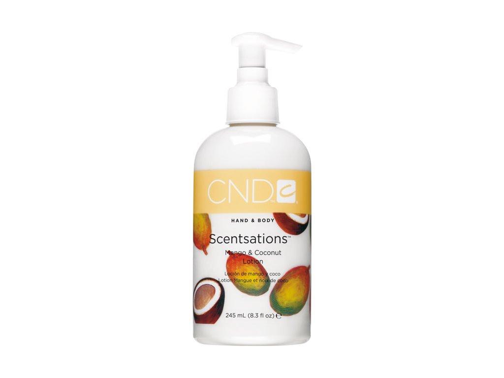 CND SCENTSATIONS™ Pleťové mléko mango a kokos (245ml)