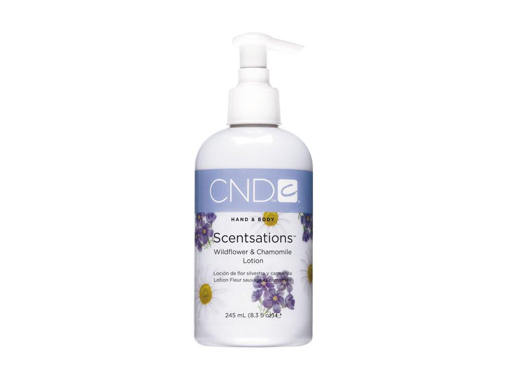 CND SCENTSATIONS™ Pleťové mléko sasanka a heřmánek (245ml)